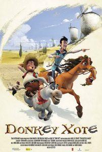 donkey xote film poster