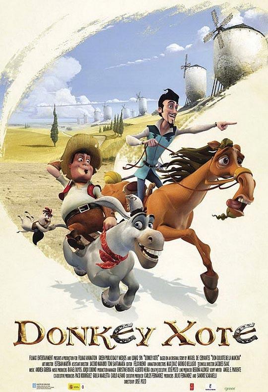 donkey-xote film poster