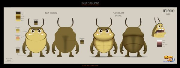 maya the bee2 character design