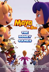 maya the bee the honey games poster