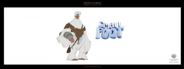 smallfoot character design work