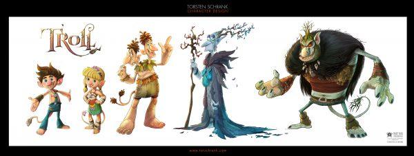 TROLL character design