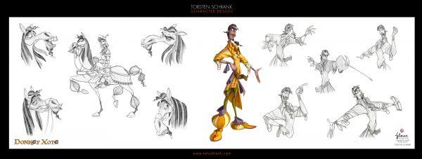 donkey xote character development