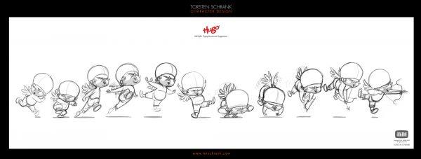hugo film character design