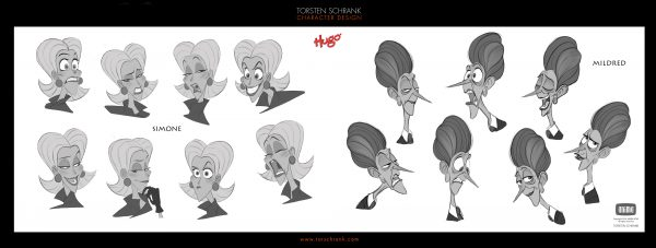 hugo film character design