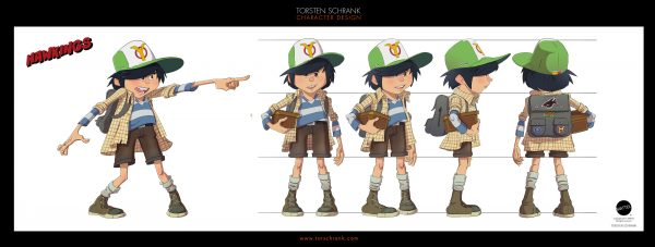 treasure hunters character design by torsten schrank
