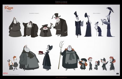 misc character design netflix klaus