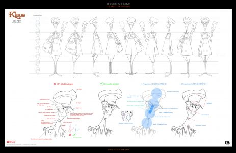 jesper character design netflix klaus