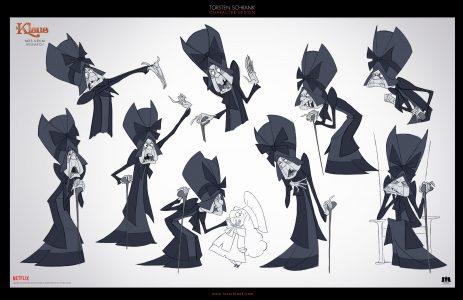 krum character design netflix klaus