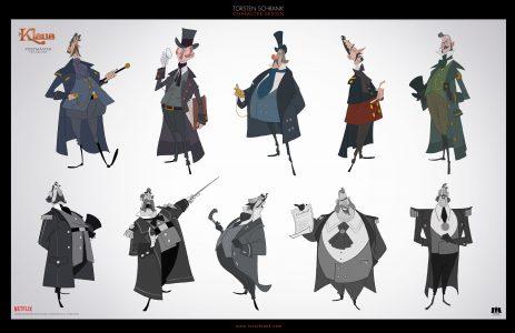 postmaster character design netflix klaus