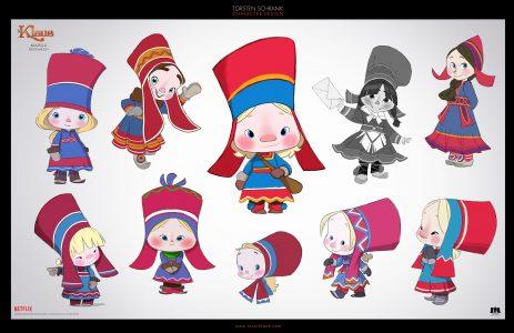 margu character design netflix klaus